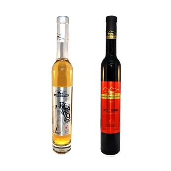 6瓶红冰酒+6瓶白冰酒组合装 原瓶进口加拿大枫溪酒庄 (仅送中国)