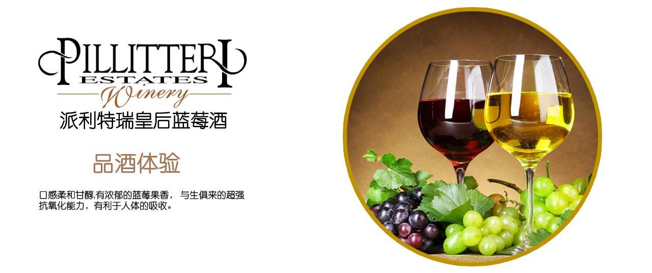 冰川皇后蓝莓酒Glacial Queen Blueberry Wine 仅送中国图片